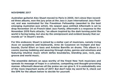 Press Book - Alex Stuart - Aftermath 10-1