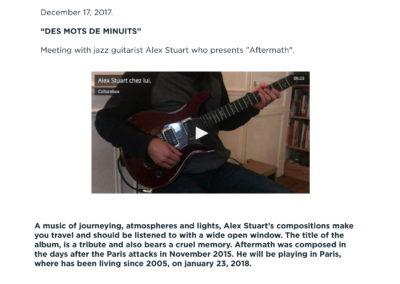 Press Book - Alex Stuart - Aftermath 4-1