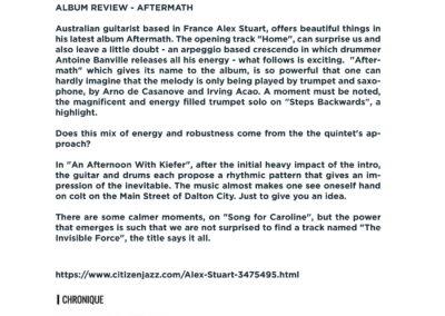 Press Book - Alex Stuart - Aftermath 6-1