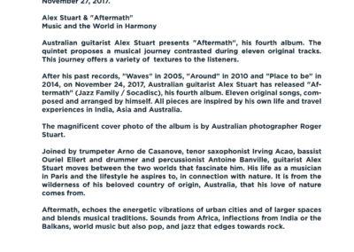 Press Book - Alex Stuart - Aftermath 8-1