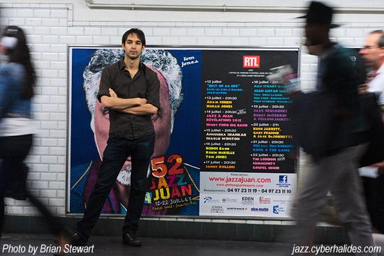 Jazz à Juan Metro Poster