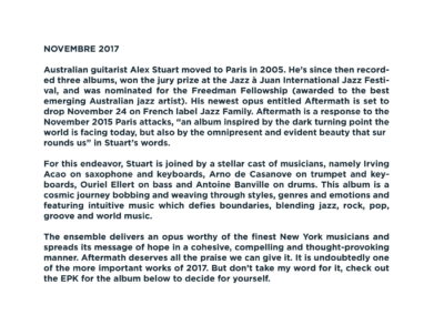 Press Book - Alex Stuart - Aftermath 10-1