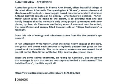 Press Book - Alex Stuart - Aftermath 6-1